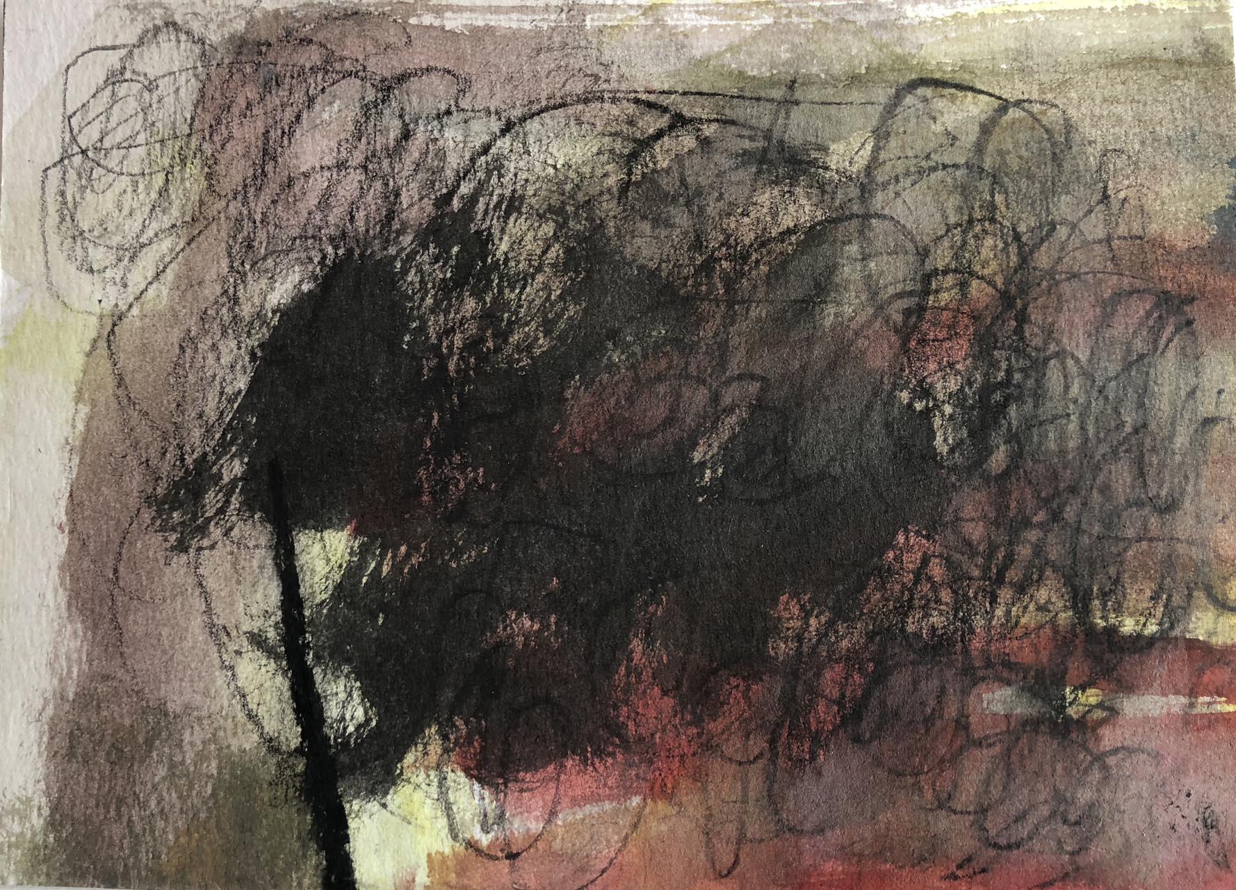 Die Spur-Giruli 10-Aquarell 15×20-2018