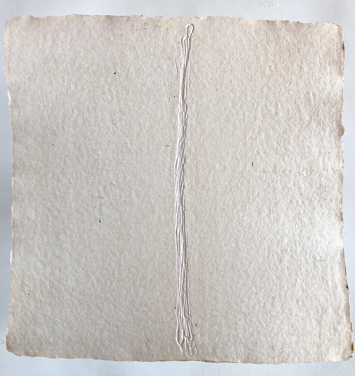 Geschöpftes Papier-Weiss 4-Drucktechnik-30×30-2016