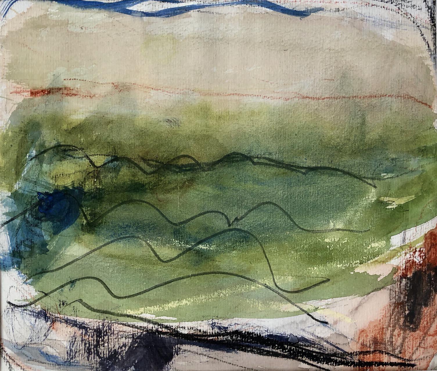 Landschaft-Cori 4-Aquarell-30×40-2018