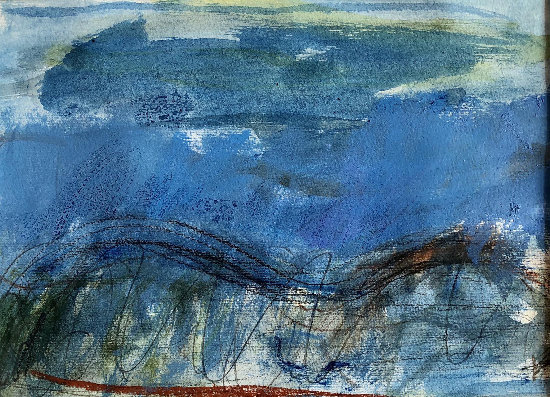 Landschaft-Cori 7-Ölpastell-30×40-2015