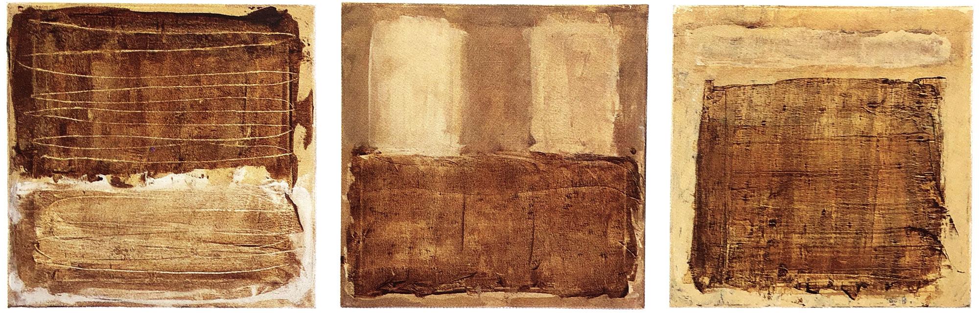 Monochrom-Triptychon-Öl-auf-Leinwand-je-50×60-2000